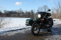 Thanksgiving Day Ride 2010 with the Ural