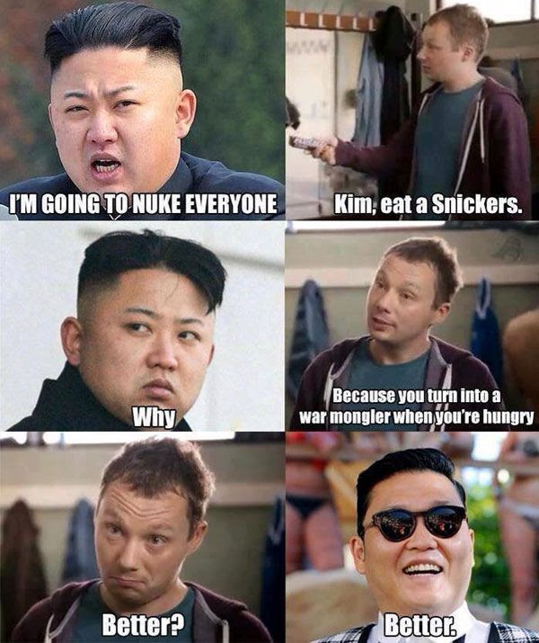 Doesn't Psy bear an uncanny resemblance to Kim Jong-un? Or are Korean dudes naturally chubby?