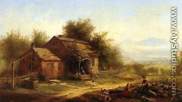 Daily Chores on the Farm by Jerome B. Thompson - MyStudios.com