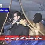 Images de la télévision d'Etat en Irak.