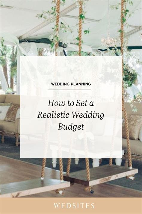 How to Create a Realistic Wedding Budget   planning