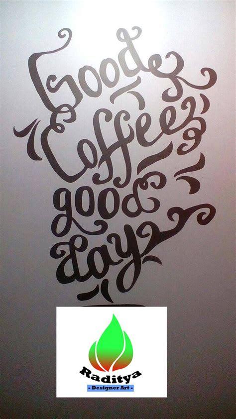 gambar tulisan coffee keren