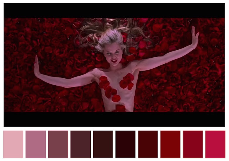 Color Palettes From Famous Movies Show How Colors Set The ...