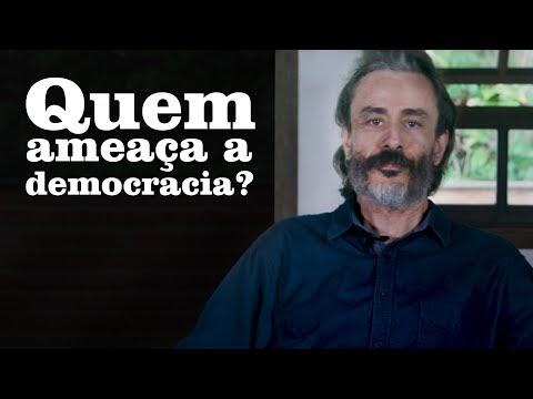 Em vídeo, Guilherme Fiuza pergunta: 'Quem ameaça a democracia?'