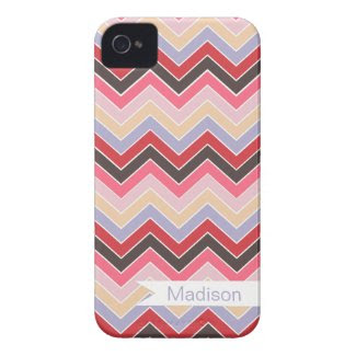 Vintage Fun {chevron pattern} Iphone 4 Covers