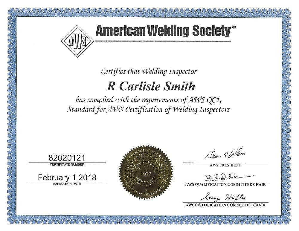 NCCER | Welding | Pearson qualifications aws entry level welding certification