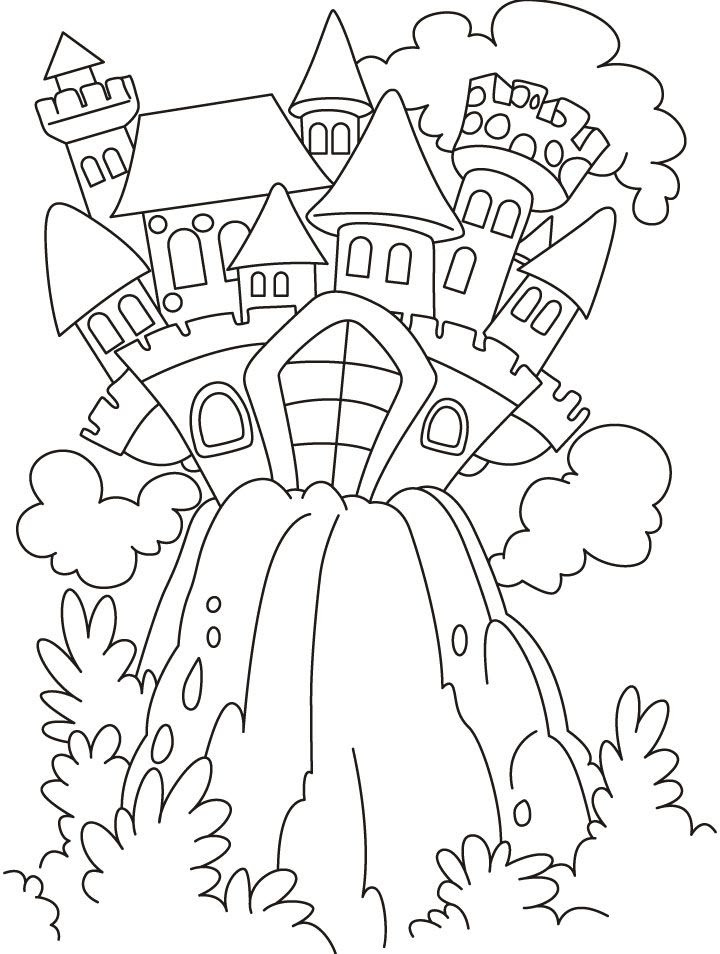 Fairy Tale Coloring Pages - Kidsuki