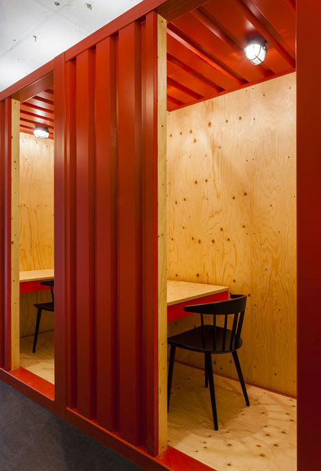 Google UK Campus Meeting Room by Jump Studios
