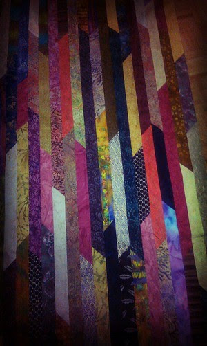 Batik Stripper Quilt
