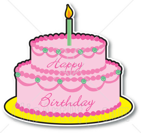 Birthday Cake Images Cartoon Clip Art Library