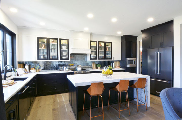 Don't be Scared of a Black Kitchen - Gem Cabinets