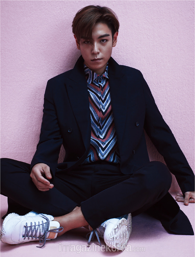 Big Bang TOP - Esquire Magazine May Issue '15