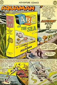Adventure #240 Aquaman Splash Page