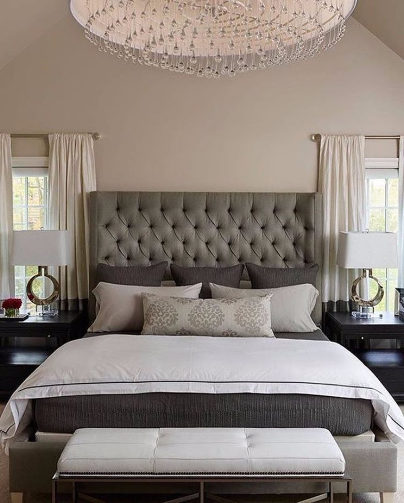 Sublime Tufted Headboards for Master Bedroom Décor