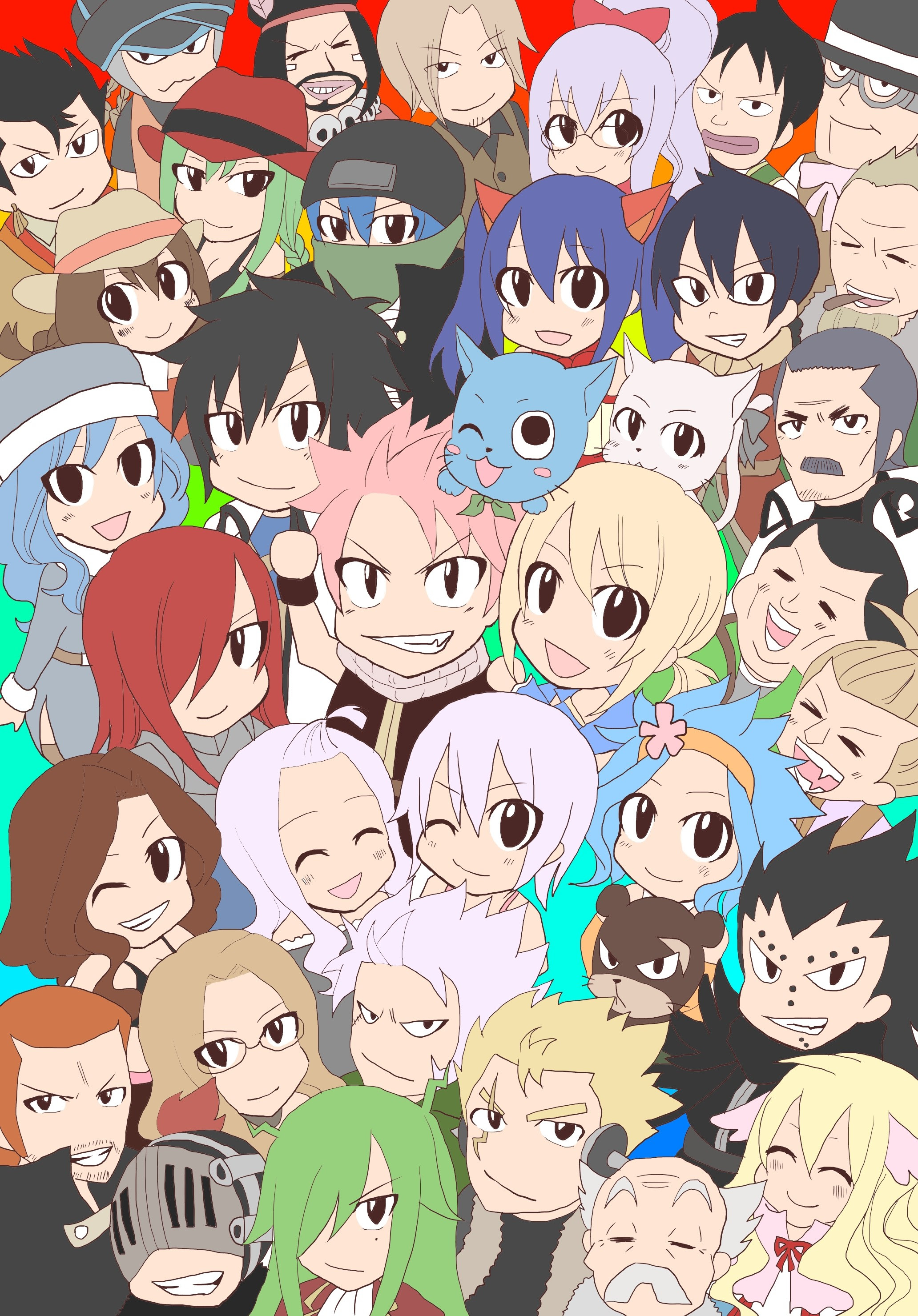 Fairy Tail Chibi Wallpaper 67 Images