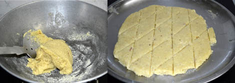 How to prepare kesar kaju katli