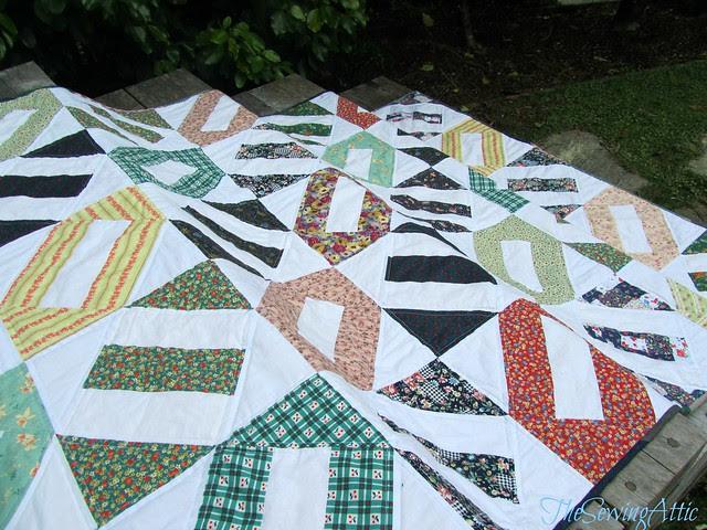 Crackerbox quilt