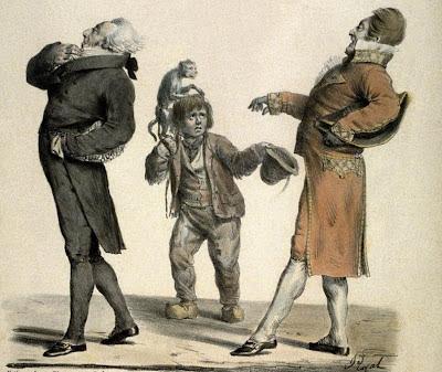 Victorian era cartoon by Edme-Jean Pigal
