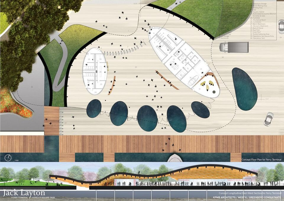 Winning Entry Announced for Jack Layton Ferry Terminal ...