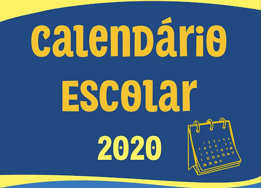 Resultado de imagem para calendário escolar 2020