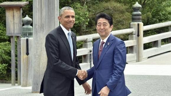 """Obama afirma que """"abogará"""" por desarme nuclear en Japón. Foto: EFE"""