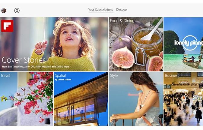 flipboard أفضل 10 تطبيقات للويندوز 8.1 خلال 2014