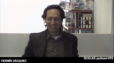 Fermín Vázquez en el Centro de Enlace AE BCN para SCALAE