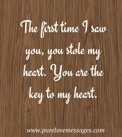 You Hold The Key To My Heart Quotes Pure Love Messages