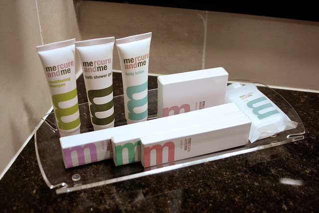 I love the revamped look of the toiletries