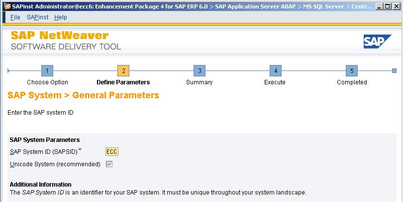 Guide d'installation de sap erp 6.0 ides