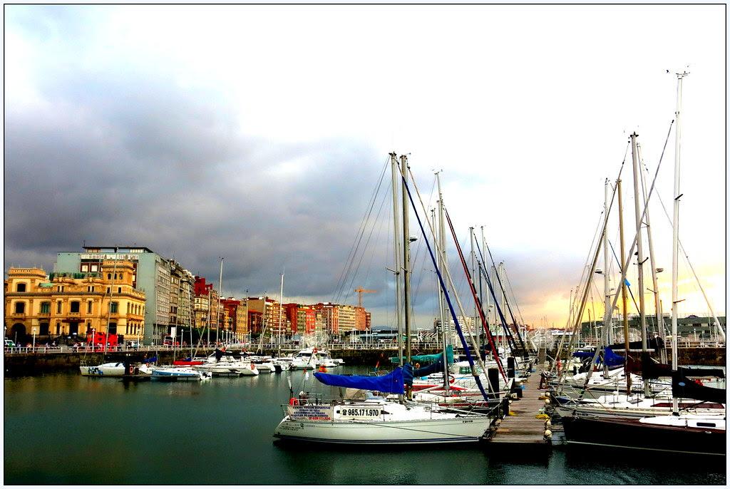 en las calles de Gijón