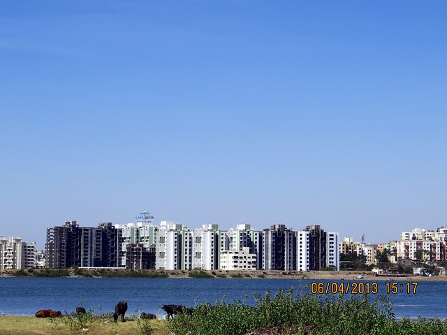 Close up of Venkatesh Lake Vista from Lake Shire, 1 BHK 2 BHK 3 BHK Flats at Jambhulwadi Lake, Ambegaon Khurd, Pune 411046