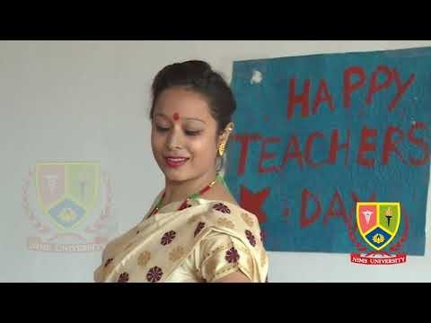 East India Folk Dance Performance : Teachers Day