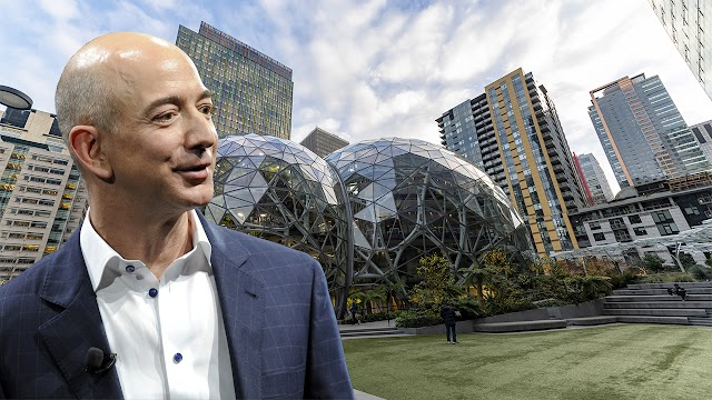 Amazon gains strength as coronavirus boosts shopping, cloud services