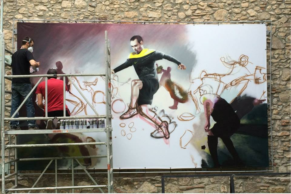 Como Pintar Un Mural En Una Pared Interior O Exterior Tecnicas Dase
