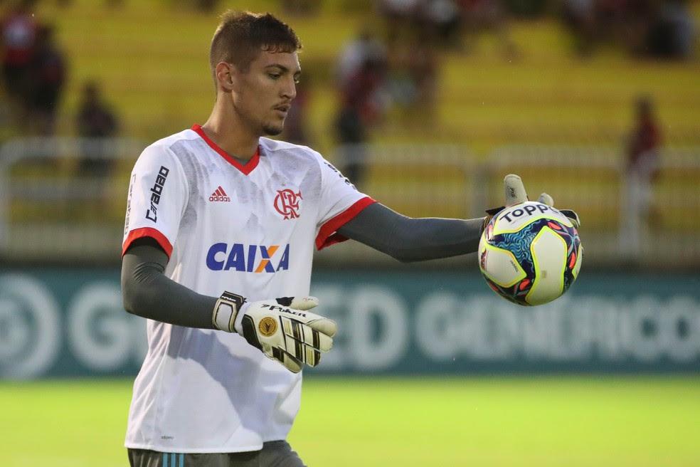 Thiago tem boa chance de começar contra o Avaí, domingo (Foto: Gilvan de Souza/Flamengo)