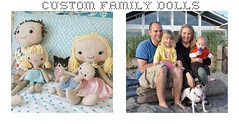 custom family dolls