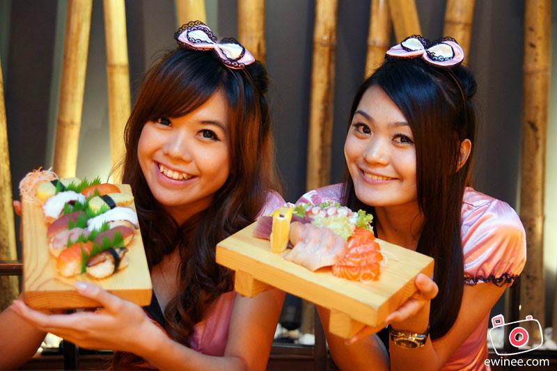 ROBOT-SUSHI-SUNWAY-PYRAMID-LAUNCH-sushi-girls