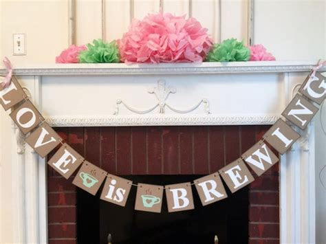 Love is Brewing Decor   Love is Brewing Bridal Tea Party