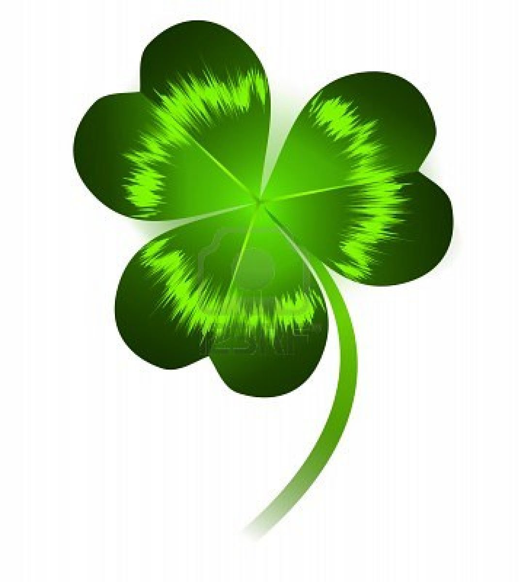 Three Leaf Clover Clipart At Getdrawingscom Free For Personal Use