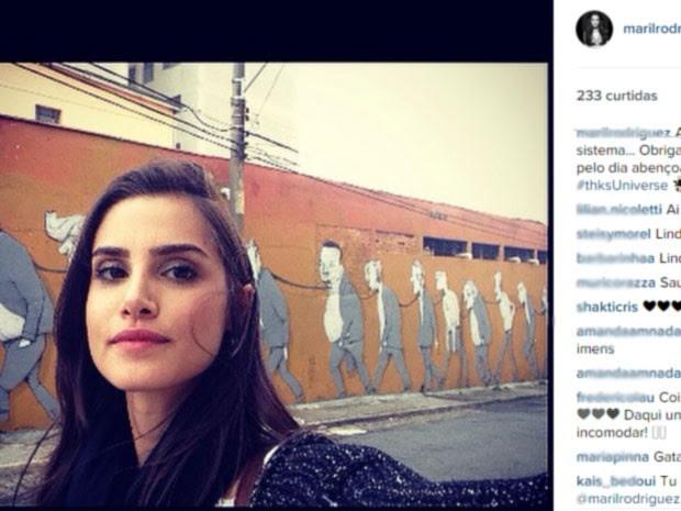 Modelo Mariana Livinalli sofreu acidente grave na Faria Lima (Foto: Reprodução/Facebook)