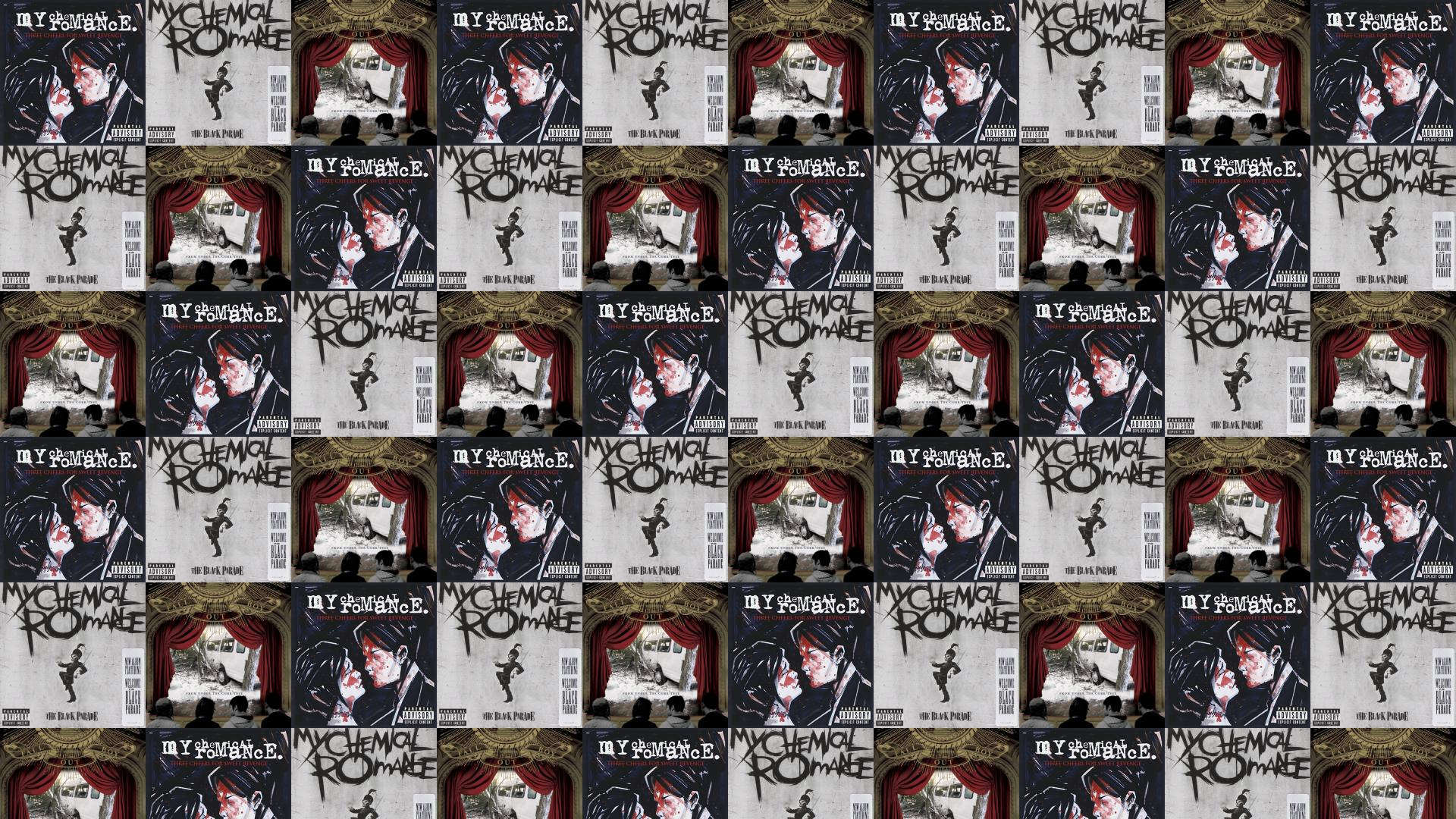 My Chemical Romance Three Cheers For Sweet Revenge Wallpaper