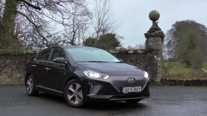Image result for Hyundai Ioniq Electric in Ireland
