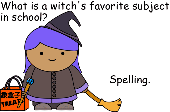 witch spell halloween