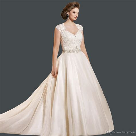 Plus Size Wedding Dresses With Color   Wedding and Bridal