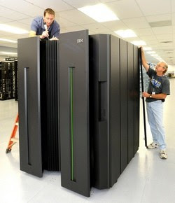 IBM's zEnterprise architecture makes mainframes cool again, also efficient