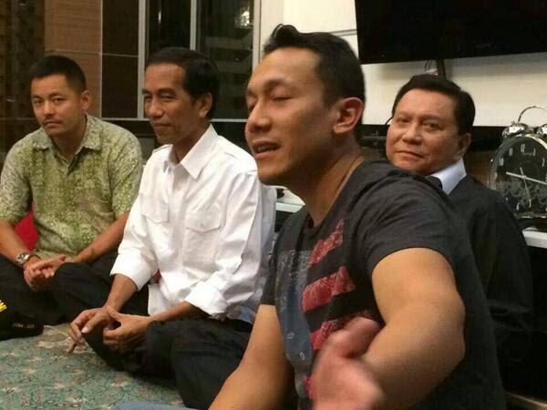 AM Hendropriyono dan Jokowi, penuh darah...