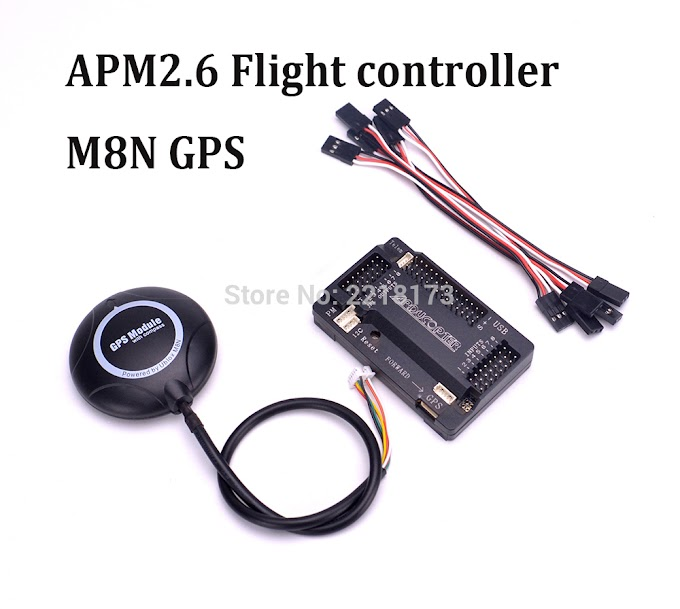 APM2.6 APM 2.6 Flight Controller Board side pin + M8N GPS with compass For RC FPV drone Quadcopter