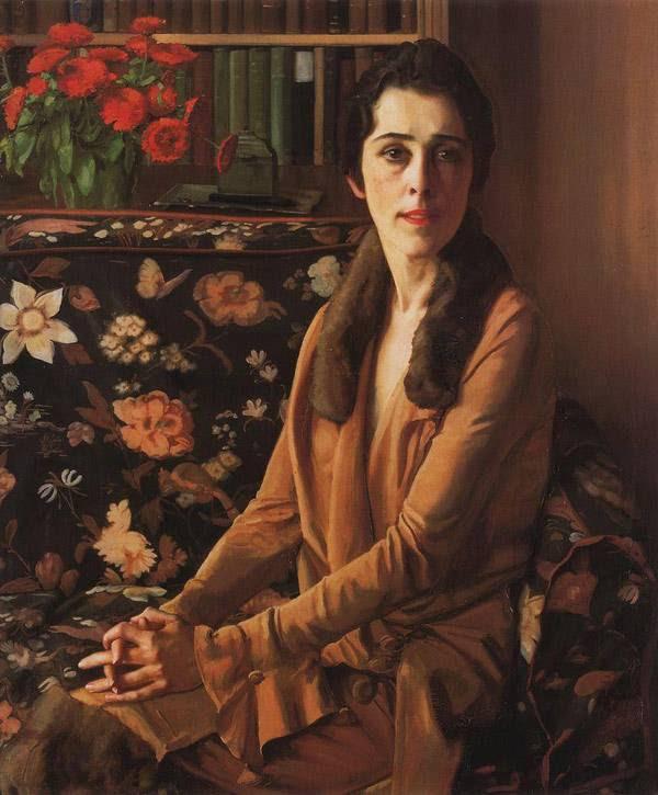 Портрет Луизы Морган. 1926