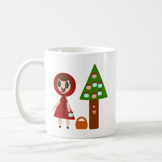 Little Red Riding Hood and the Cupcake Tree Mug